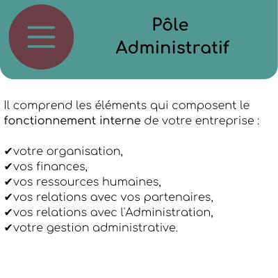pole administratif entreprise back office