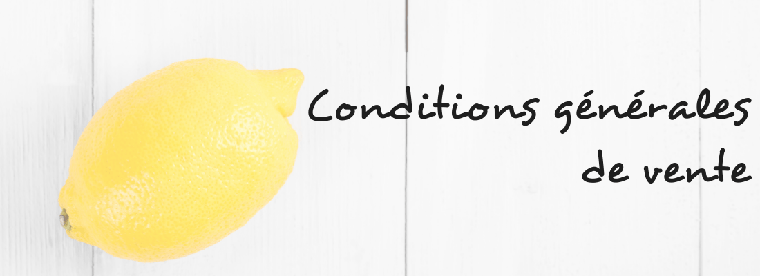conditions generales vente caroline lombard