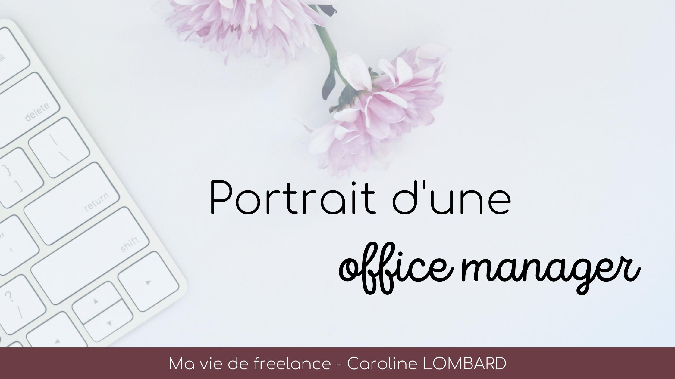 Portrait-d'une-office-manager