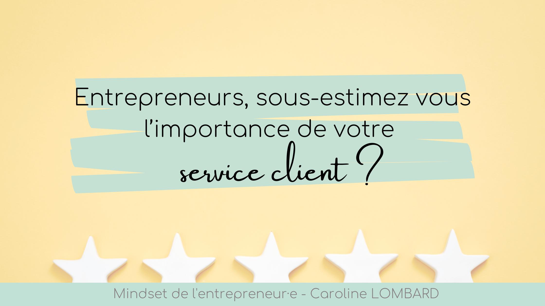 entrepreneur service client