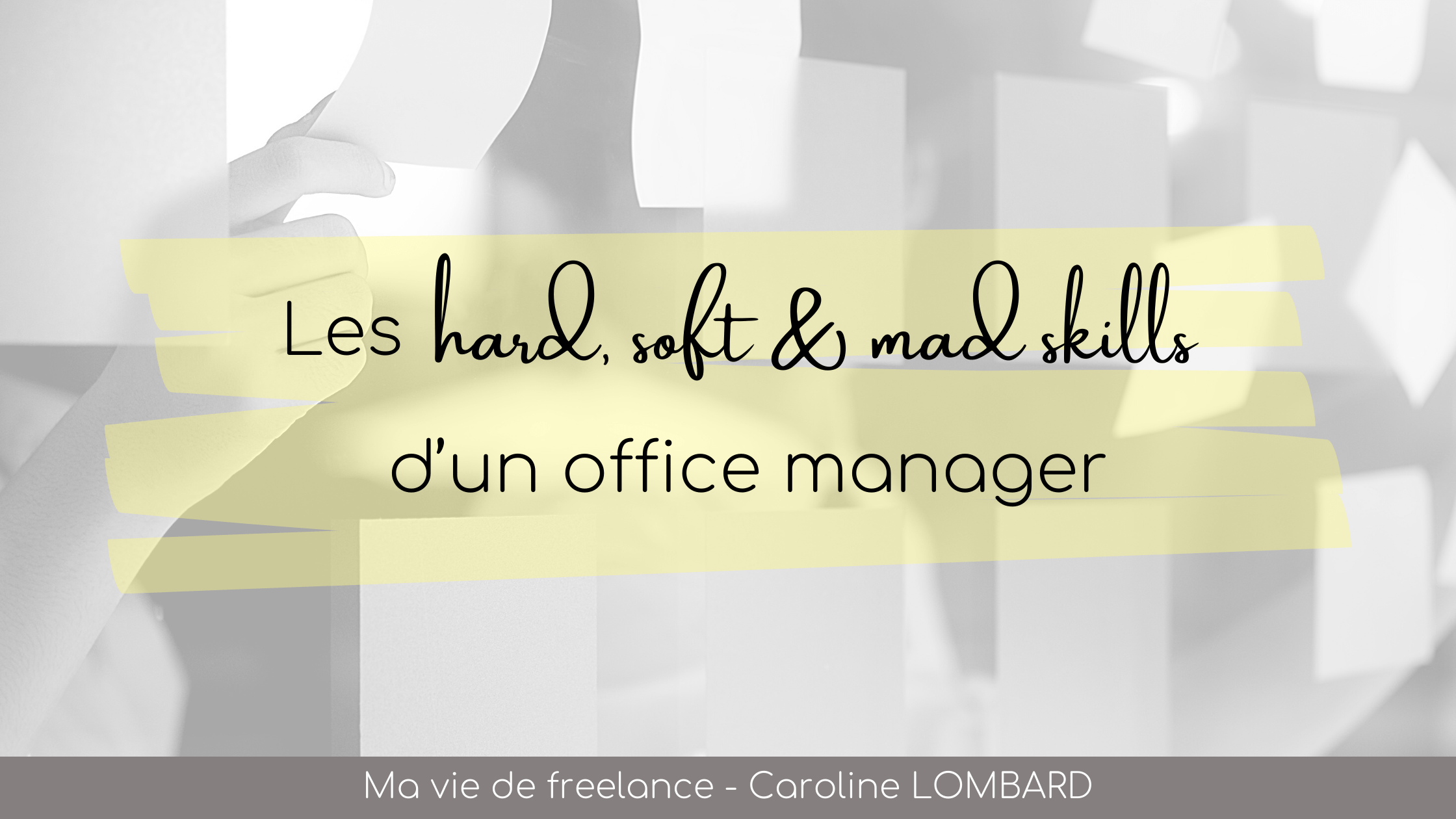 hard soft mad skills office manager