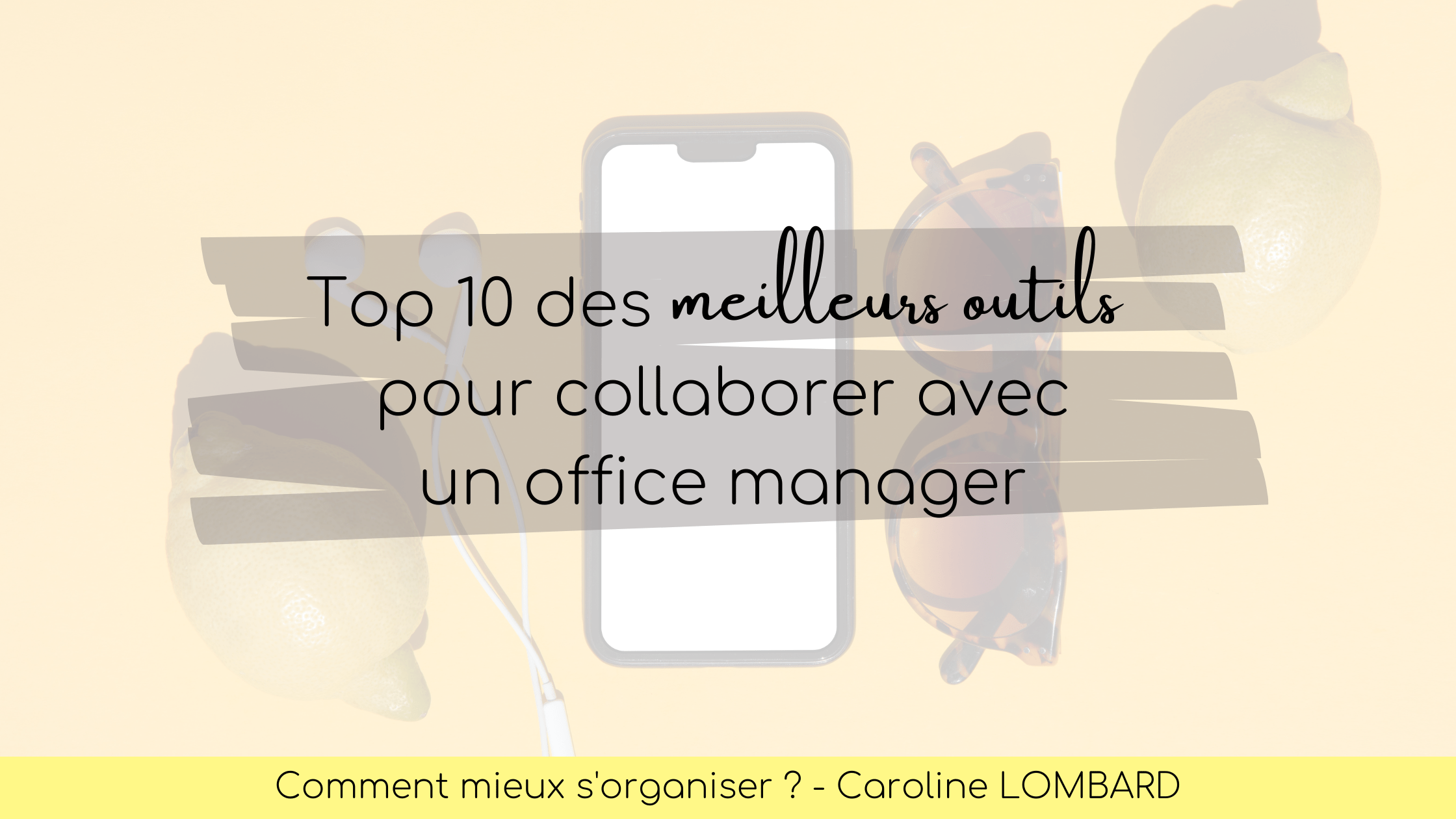 meilleurs outils office manager